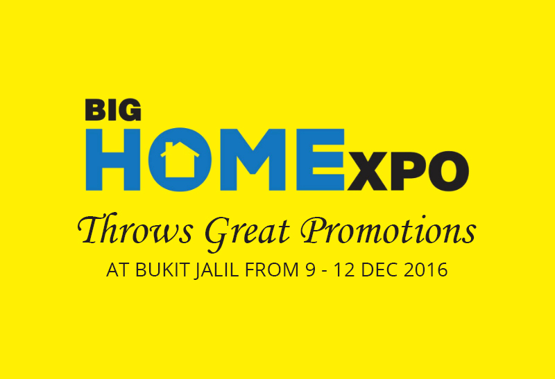 Big Homexpo Throws Great Promotions At Bukit Jalil From 9