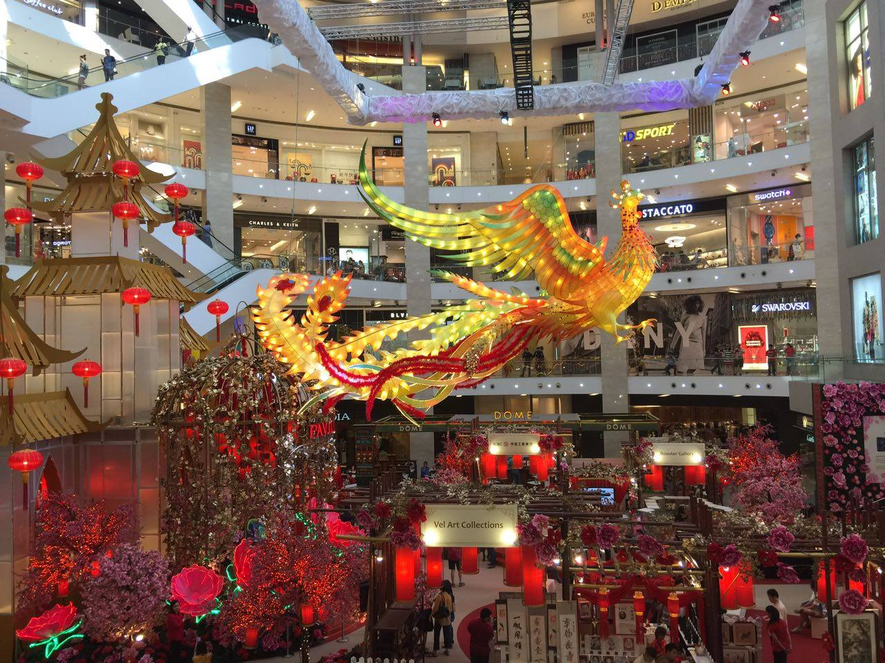 Shopping Malls In Kl Celebrate Chinese New Year With