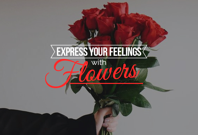Image result for Express Your Feelings With Flowers