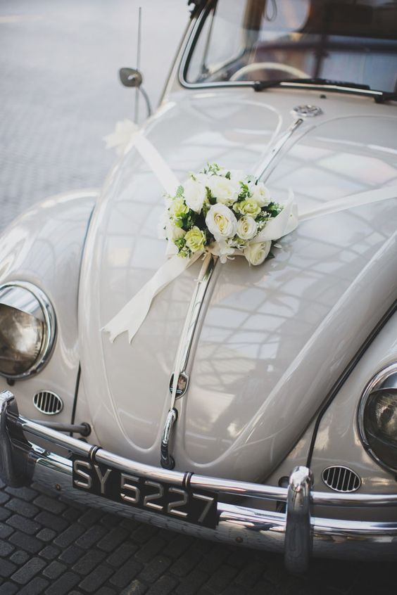Funky And Innovative Ideas For Truly Romantic Wedding Car Decorations Klnow